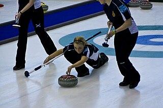 Anna Sloan British curler