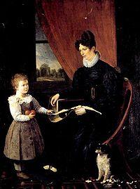 Anne-François Arnaud Giovane madre.jpg