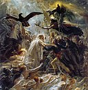 Anne-Louis Girodet De Roucy-Trioson - Ossian Receiving the Ghosts of French Heroes - WGA09512.jpg