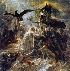 Apothéose des héros français morts pour la patrie pendant la guerre de la liberté