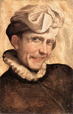 Annibale Carracci, Giovane che ride, 1583, Roma, Galleria Borghese