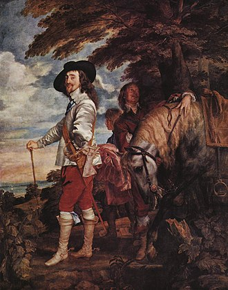 Anthony van Dyck - Charles I at the Hunt, c. 1635, Louvre