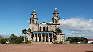 Old Cathedral of Managua Catholic church building in Managua, Nicaragua