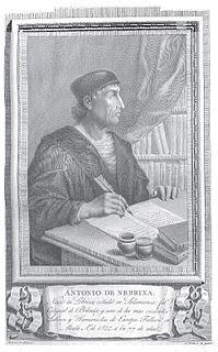 Antonio de Nebrija Spanish scholar