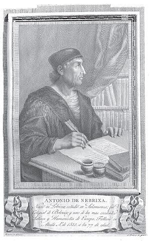 Antonio de Nebrija - Image: Antonio de Nebrixa