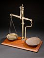 Apothecary's balance, Europe, 1901-1930 Wellcome L0057866.jpg