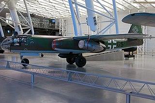 Arado Ar 234 1943 bomber aircraft by Arado