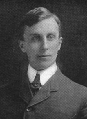 Archie Hoxton - Hoxton pictured in Corks and Curls 1916, Virginia yearbook