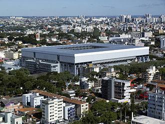 Arena da Baixada - The new Arena da Baixada, built for the 2014 World Cup