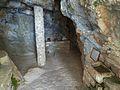 Argokiliotissa Chapel with cave, interior 13M337.jpg
