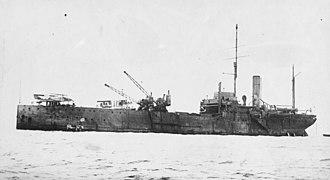 Seaplane tender - Ark Royal about 1918