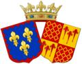 Arme S. A. R. Madame la duchesse d'Angoulême.png
