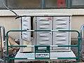 Armoire hébergeant les fusibles et le comptage pour l'éclairage public, cours Lafayette (Lyon).jpg