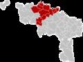 Arrondissement Ath Belgium Map.png