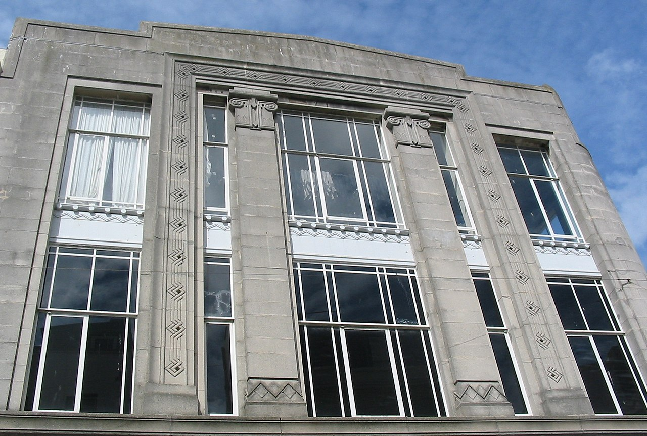 Art deco style architecture - File Art Deco Burtons Jersey Architecture Jpg