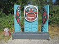 Artistic bench along Haxton Way Trail (14269458077).jpg