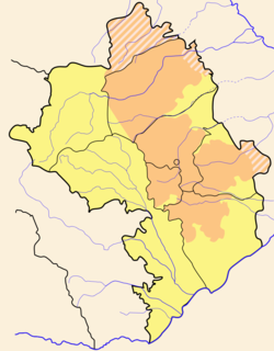 Armenian-controlled territories surrounding Nagorno-Karabakh