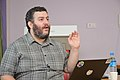 Asaf Bartov - Wikidata Workshop - Kolkata 2017-09-16 2809.JPG