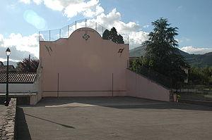 Fronton (court) - Image: Ascarat Fronton