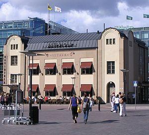 Vltava (restaurant) - The restaurant in 2007.