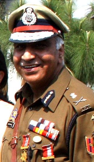 Ashok Bhan (Police officer) - Image: Ashok Bhan IPS