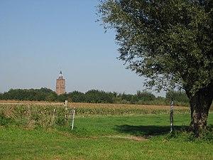 Asperen - Tower of the Protestant church in Asperen