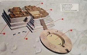 Aspero - 3D model of Aspero