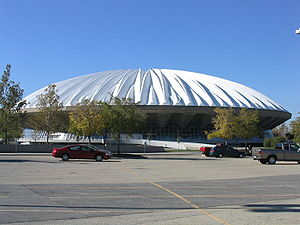 State Farm Center - Exterior in 2003