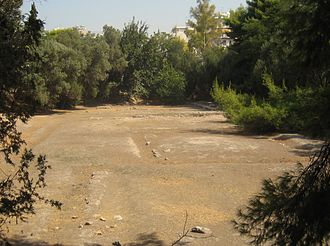 Platonic Academy - The archaeological site of Plato's academy.