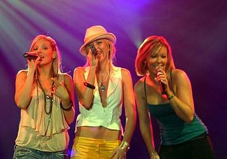 Atomic Kitten - Atomic Kitten performing live in Kraków on 28 August 2005.