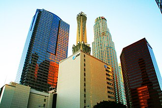History of AT&T - The AT&T Switching Center in Downtown Los Angeles.