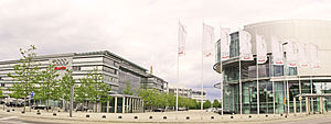 Audi - Audi head office in Ingolstadt