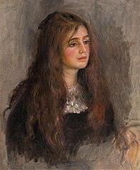 Portrait de Julie Manet