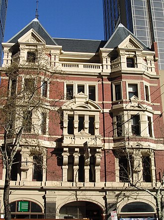 Nahum Barnet - Image: Austral buildings 115 119 Collins Street Melbourne
