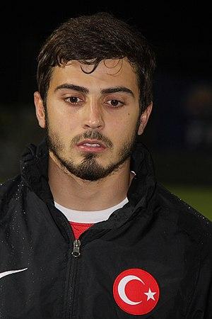 Eray Ataseven - Ataseven playing for Turkey U21 in 2013