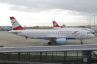 OE-LBK - A320 - Austrian Airlines