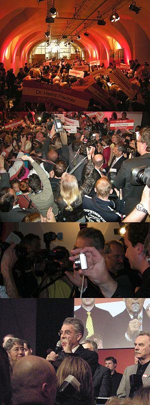 Heinz Fischer - Re-election party, 2010-04-25.