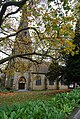 Autumn colours at St James church - geograph.org.uk - 1045822.jpg