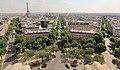 Avenue Kléber from the Arc de Triomphe, Paris 20 June 2017.jpg
