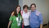 Avner and Darya's wiki Wedding at Wikimania by ovedc 26.jpg