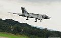 Avro Vulcan XH558 warbird coming in too land - Farnborough International Airshow 2012 - England.jpg