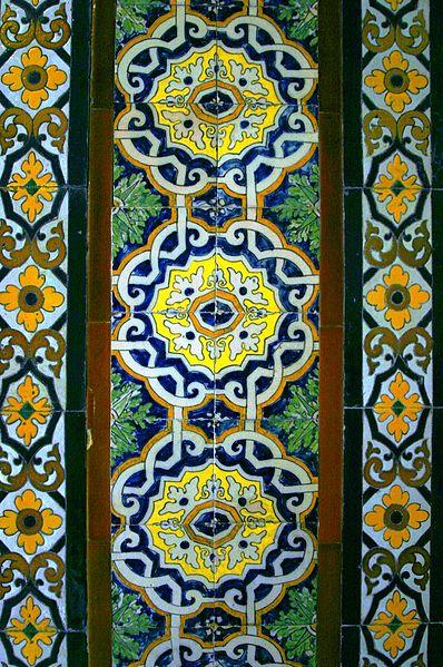 File:Azulejos - Palacio de la Condesa de Lebrija (2).JPG
