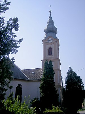 Búč - Protestant church in the village