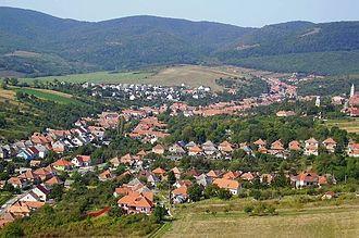 Bükkzsérc - Image: Bükkzsérc látképe