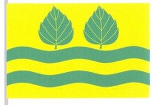 Březí nad Oslavou - Image: Březí nad Oslavou, vlajka