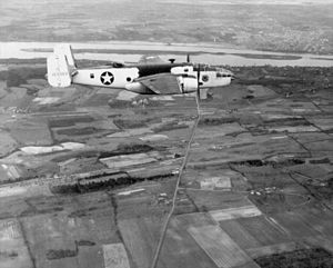 5th Expeditionary Airborne Command and Control Squadron - B-25 Mitchell parto of the antisubmarine operations