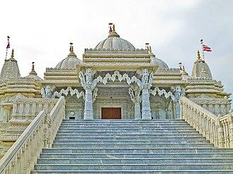 BAPS Shri Swaminarayan Mandir Toronto - Image: BAPS Toronto Mandir front