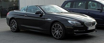 BMW 650i Cabriolet (F12) %E2%80%93 Frontansicht, 8. April 2011, Mettmann