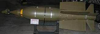 Guided bomb - BOLT-117, the world's first laser-guided bomb