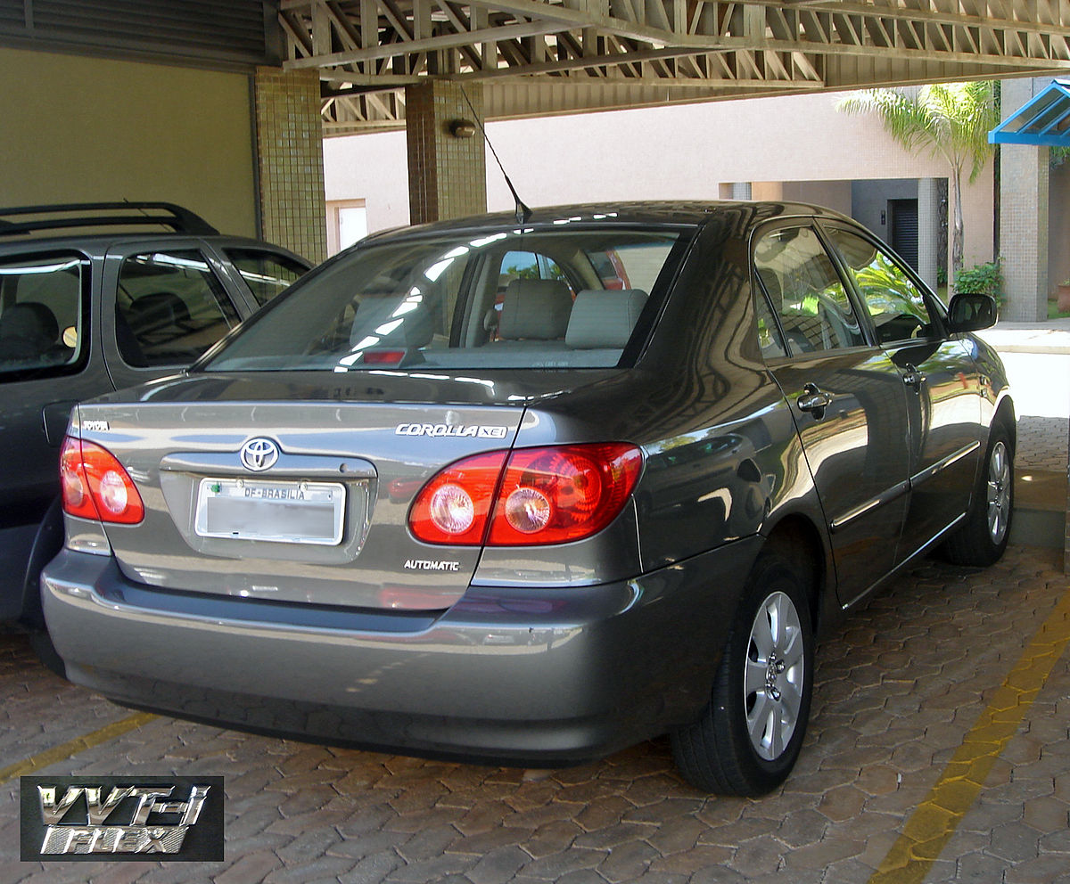 Kelebihan Toyota Corolla 2008 Spesifikasi